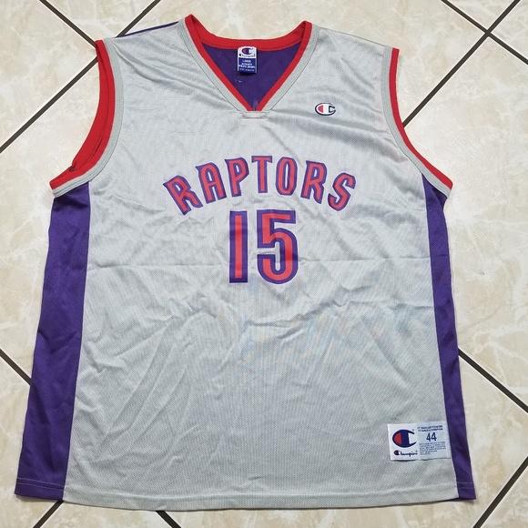 Champion Other - Rare Vince Carter Toronto Raptors Champion Jersey 1d4d3d373
